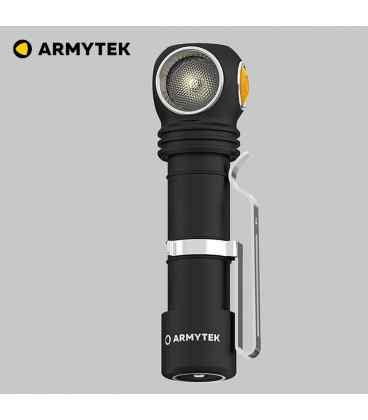 Latarka / czołówka Armytek Wizard C2 Pro v4 Magnet USB z uchwytem na rower