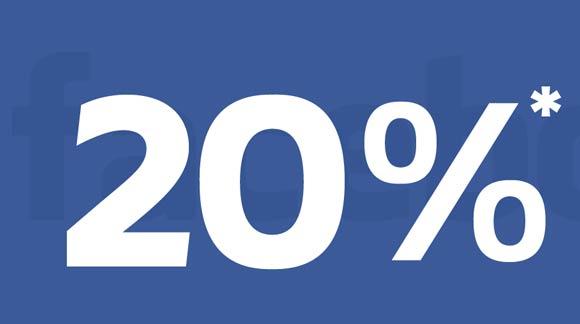 Dołącz do nas na Facebooku i odbierz rabat 20%